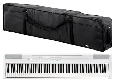 Yamaha P-115 WH Bag Bundle