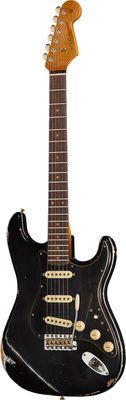 Fender Strat Roasted Dual-Mag BK LTD