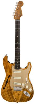 Fender Artisan Thinline Koa Strat NOS