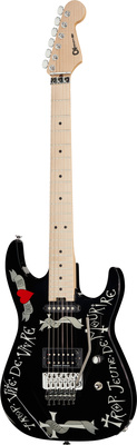 Charvel Warren DeMartini Black USA