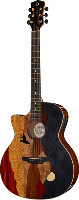 Luna Guitars Vista Wolf LTD LH