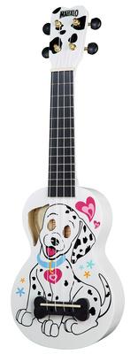 Mahalo Dalmatian Ukulele