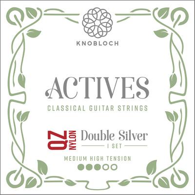 Knobloch Strings Double Silver Nylon QZ 400ADQ