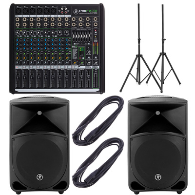 Mackie PROFX12v2/Thump 12 Bundle