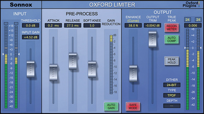 Sonnox Oxford Limiter v2 HD-HDX