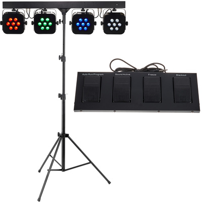 Stairville Stage Quad LED RGBW Bundle