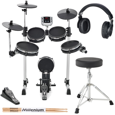 Millenium MPS-150X E-Drum Mesh Bundle
