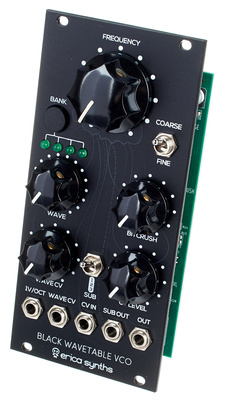 Erica Synths Black Wavetable VCO B-Stock