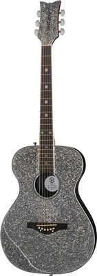 Daisy Rock Pixie Silver Sparkle 6206