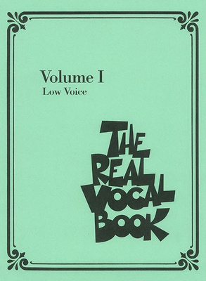 Hal Leonard Real Vocal Book (Low) Vol.1