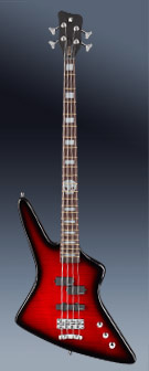 Warwick AL Rex Brown 4 Burgundy BKB HP
