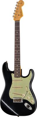 Fender 62 Strat Journeyman Black