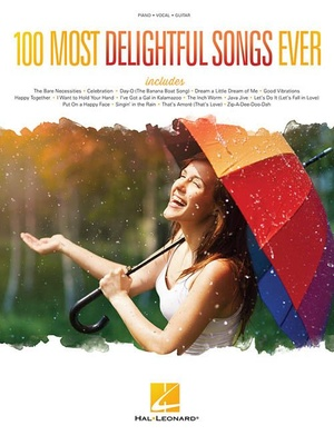 Hal Leonard 100 Most Delightful Songs Ever