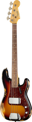 Fender 62 P-Bass Heavy Relic 3TS