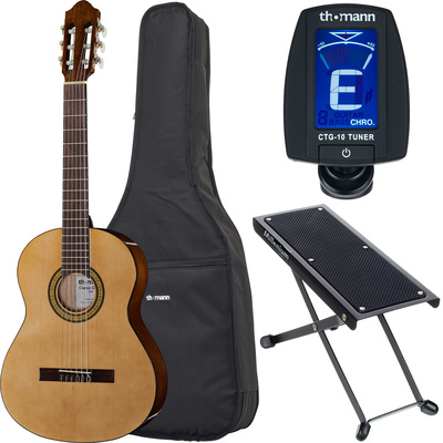Thomann Classic Guitar 3/4 Left Bundle
