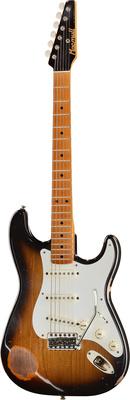 Macmull Guitars S-Classic Sunburst MN