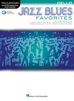 Hal Leonard Jazz Blues Favorites - Cello