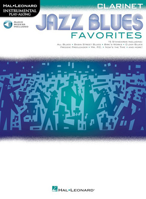 Hal Leonard Jazz Blues Favorites-Clarinet