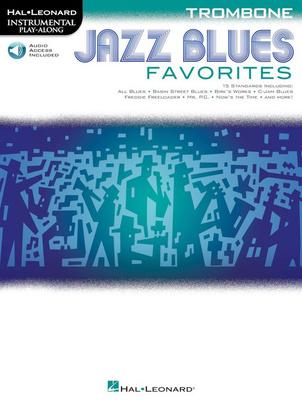 Hal Leonard Jazz Blues Favorites-Trombone