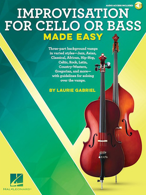 Hal Leonard Improvisation For Cello