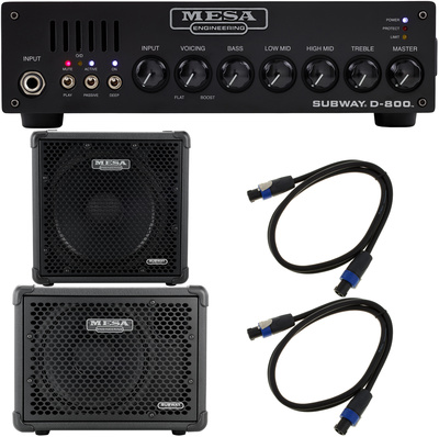 Mesa Boogie Subway D-800 Bundle 3