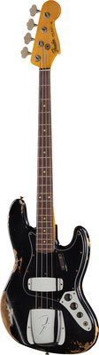 Fender 64 Jazz Bass Heavy Relic BLK H