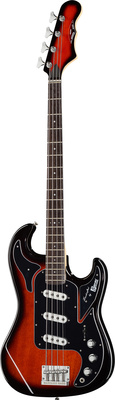 Burns Marquee Bass Redburst