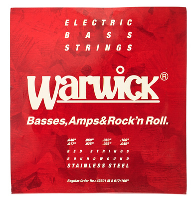 Warwick Red Strings 8 M 017/40-045/100