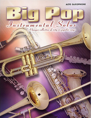Faber Music Big Pop Instrumental Solos Sax