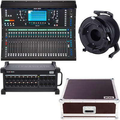 Allen & Heath SQ6, Case, DX168/X Bundle I
