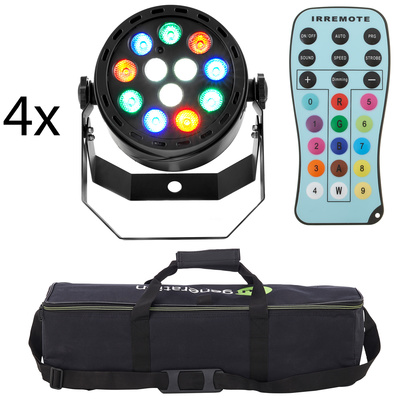 Fun Generation LED Pot 12x1W RGBW Bundle