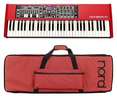 Clavia Nord Electro 5D 61 Bag Bundle