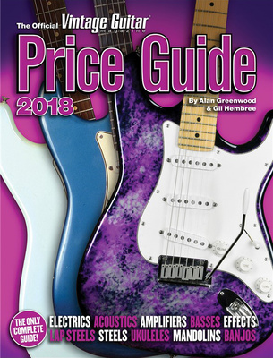 Hal Leonard Vintage Price Guide 2018