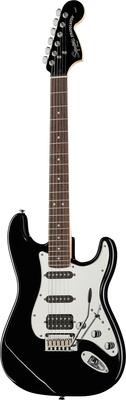 Fender SQ FatStrat Black & Chrome 18