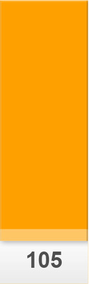 Lee Colour Sheet 105 Orange