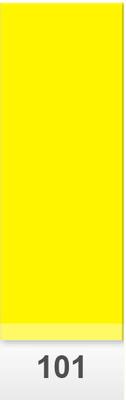 Lee Colour Sheet 101 Yellow