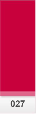 Lee Colour Sheet 027 Medium Red