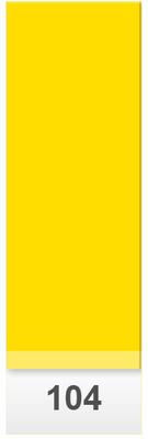 Lee Colour Sheet 104 Deep Amber