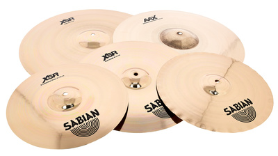 Sabian XSR Enlarged Cymbal Set Pro