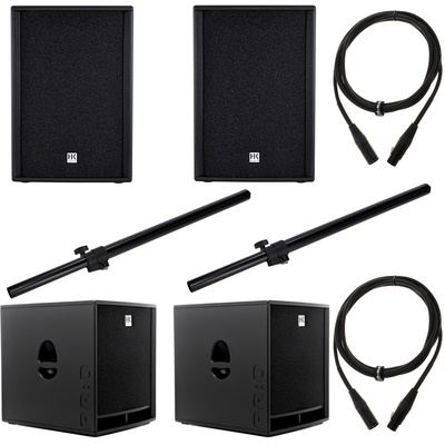 HK Audio PR:O 18/PR:O 12 D Bundle