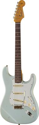 Fender 64 Strat Relic Aged Sonic Blue