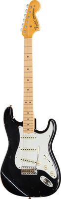 Fender 68 Strat Relic MN Aged Black