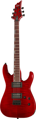 ESP LTD H-200FM See Thru Red