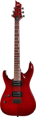 ESP LTD H-200FM LH See Thru Red