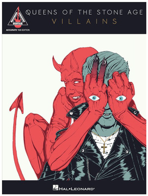 Hal Leonard Queens Of The Stone Age Vill.