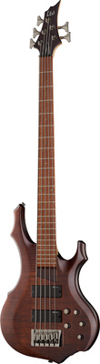 ESP LTD F-205FM Walnut Brown Satin