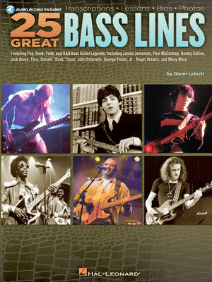 Hal Leonard 25 Great Bass Lines