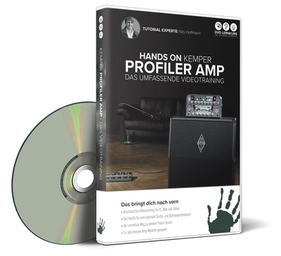DVD Lernkurs Hands on Kemper Profiler Amp