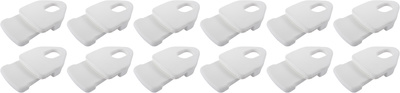Holdon Mini Clip White 12pcs Pack