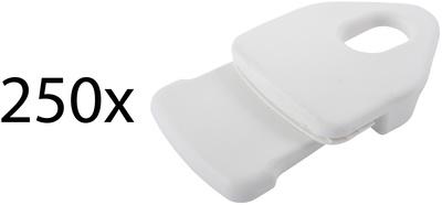 Holdon Mini Clip White 250pcs Pack